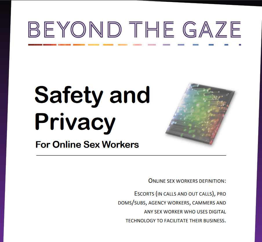 Safety and Privacy for Sex Workers Available Now